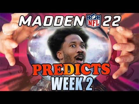 EA / Madden 22 Predicts Week 2 of the NFL 2021 Season 👀 |