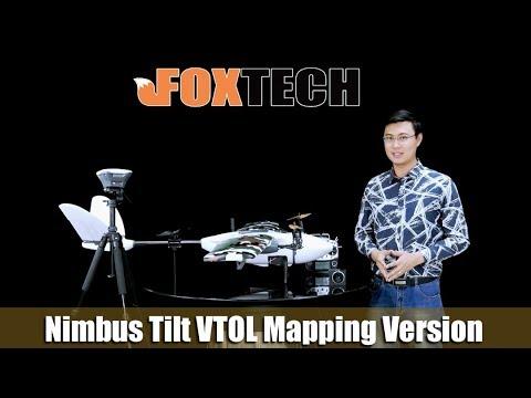 New Product Foxtech Nimbus 1800 VTOL Mapping Version