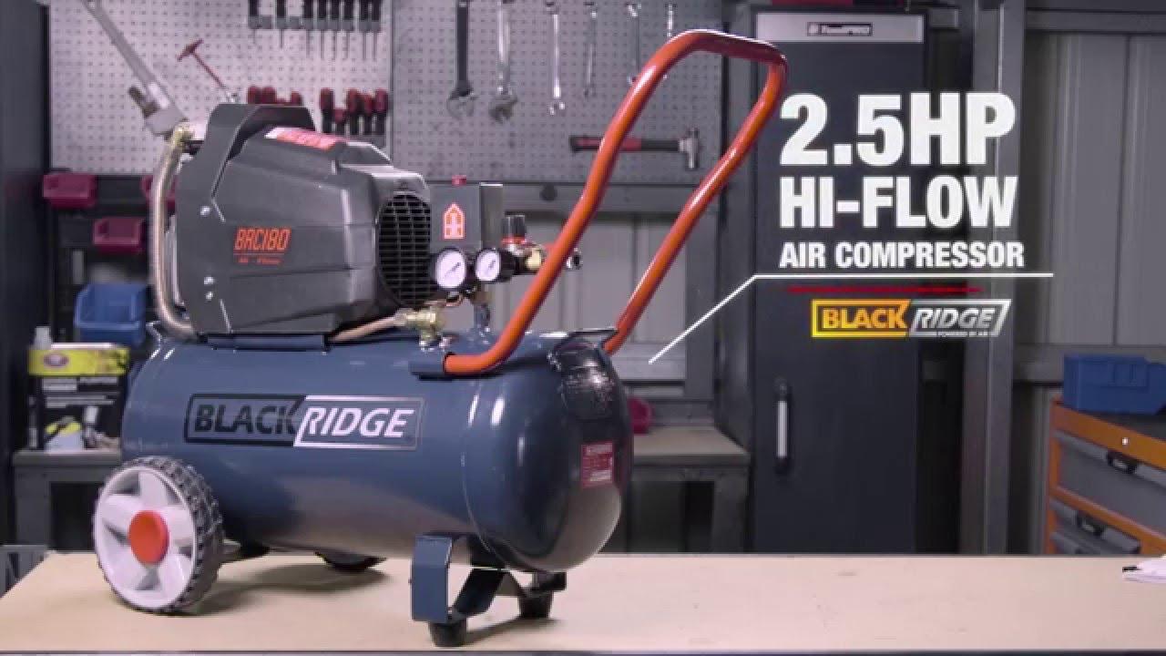 Blackridge Air Compressor Direct Drive 2 5hp Hi