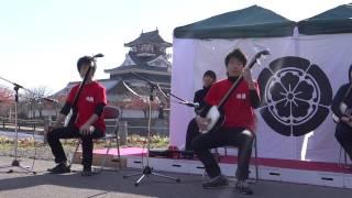 20121125 第三回うつけ祭り 津軽三味線 和胤② in 清洲城.