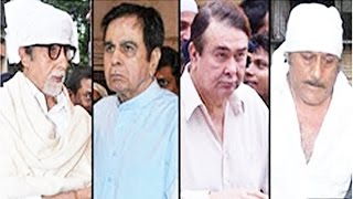 Prayer Meet Vinod Khanna - Amitabh Bachchan, Dilip Kumar Attend PRAYER MEET