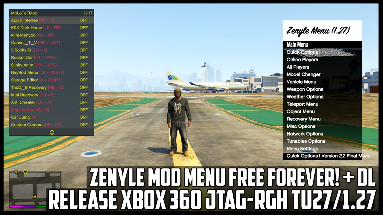 free mod menu gta 5 xbox 360