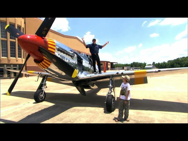 P-51C & P-40 - WIZARD OF ORLAMPA - Show Excerpts