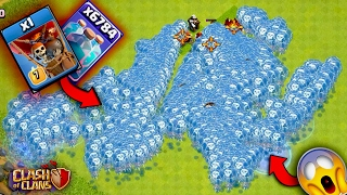 What Happens If You Clone a Clone 1000 Times ?|Clash Of Clans