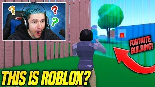 OMG THIS GAME DOESN'T EVEN SEEM LIKE ROBLOX... BUT IT IS!! *LIKE FORTNITE*