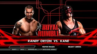 WWE 2K15 PS3 Gameplay - Randy Orton VS Kane 02 [60FPS][HD]