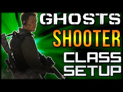 """COD Ghosts - """"SHOOTER"""" Custom Class Setup """"Bob Lee Swagger""""  (Call of Duty Online)"""