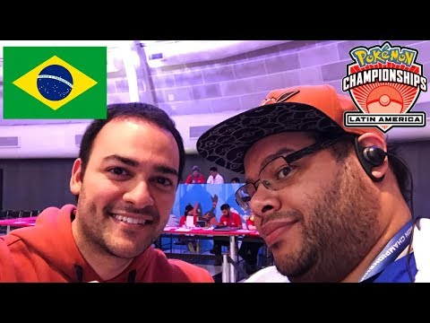 Meet Mikey in Sao Paulo Brazil at the Pokemon Latin America International Championship