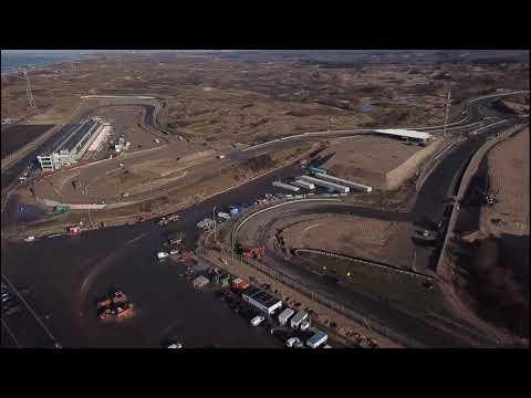 F1 Circuit Zandvoort renovation 13th and 16th January 2020