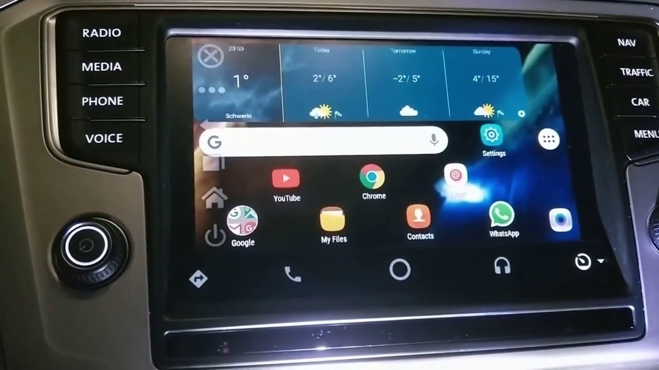 How-To Mirror Screen Android Auto mp4