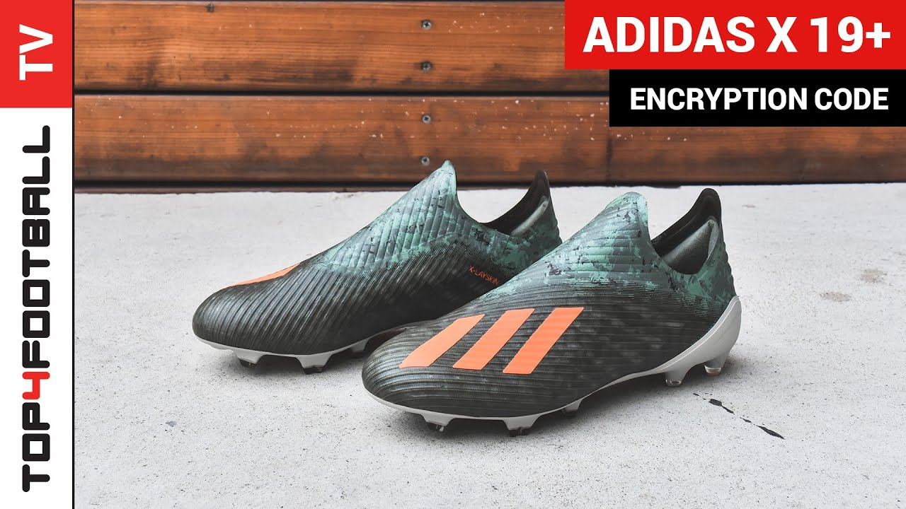 adidas X 19+ Unboxing - Encryption Code Pack