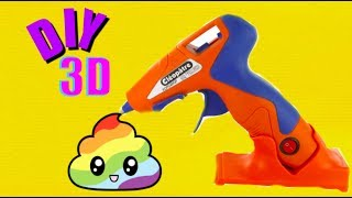 Comment faire des objets en 3D? Je teste la peinture 3D cleo'gun avec ma Soeur !