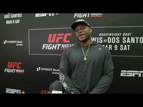 UFC Вичита: Интервью Деррика Льюиса