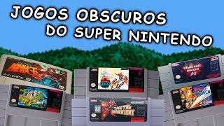 JOGOS OBSCUROS DO SUPER NINTENDO