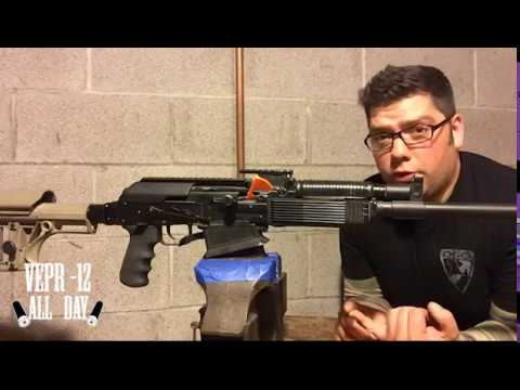 Vepr 12 All Day Ep  8: Geissele ALG AKT Drop-in Tromix Trigger Upgrade for  your Vepr 12/ Saiga 12!