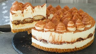 No-Bake Tiramisu Cheesecake Recipe
