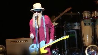 Billy Gibbons & The BFGs Live 2015 =] Ten Foot Pole [= Cullen Center, Houston, Tx - 12/3