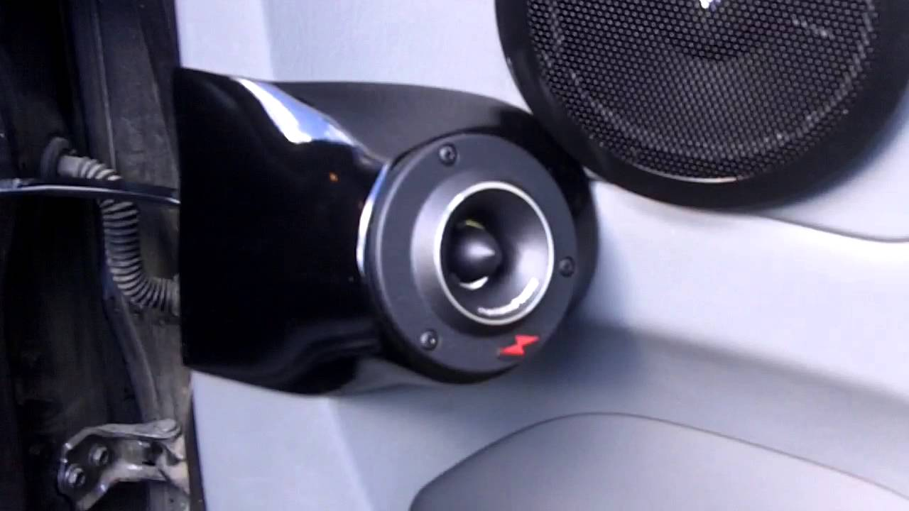 Precision Power Tweeter pods FINISHED!!! - YouTube