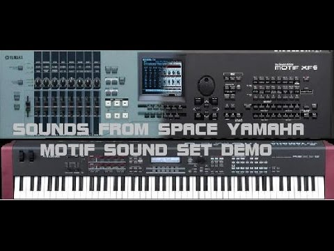 Sounds from space yamaha motif xs xf mox f sound set demo for Yamaha motif sounds download free