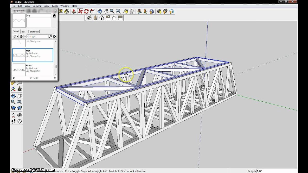 Balsa Bridge Assembleavi Youtube Warren Truss Diagram Component Inside