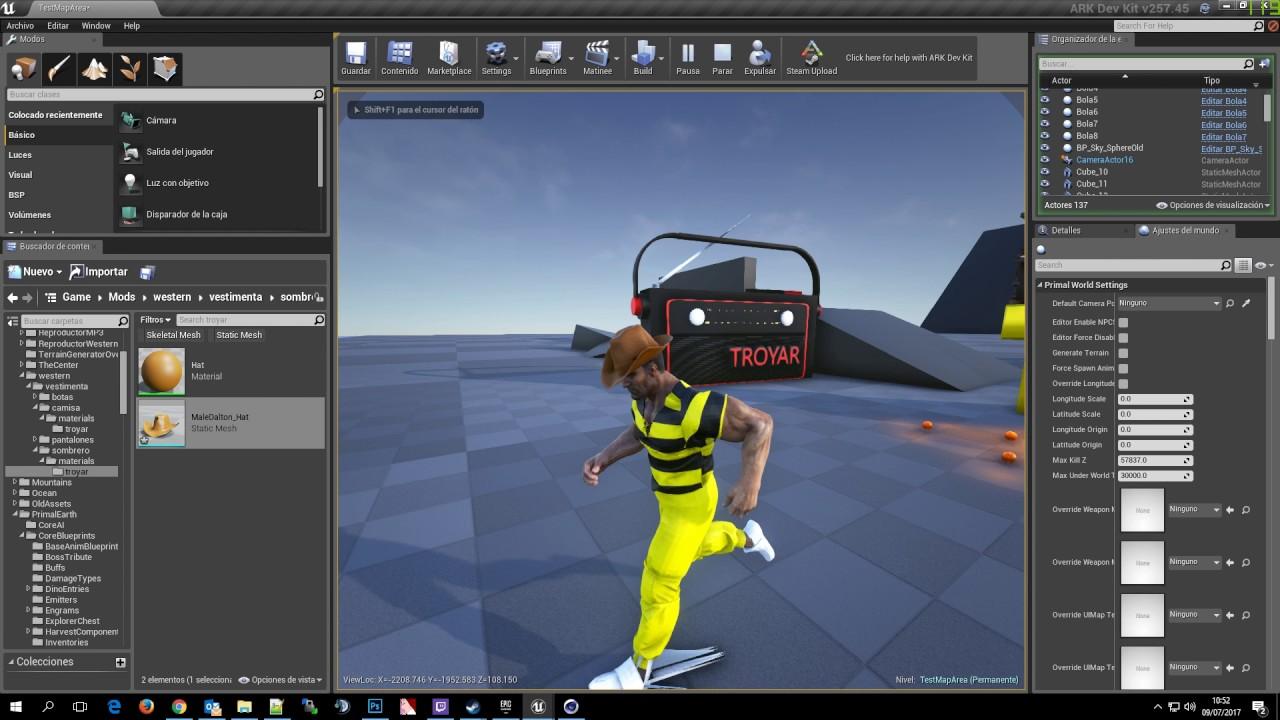 ARK Dev Kit Demo - Skeletal Mesh