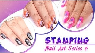 Stamping Nail Art Series 6 - Do It Yourself | Khoobsurati.com