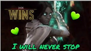 My Jade Keeps Getting Better!(Mortal Kombat 11 Ranked Matches)