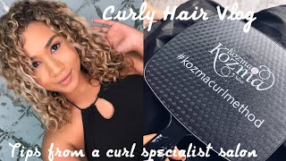 CURL TIPS FROM CURLY HAIR SPECIALIST SALON | DUBAI VLOG