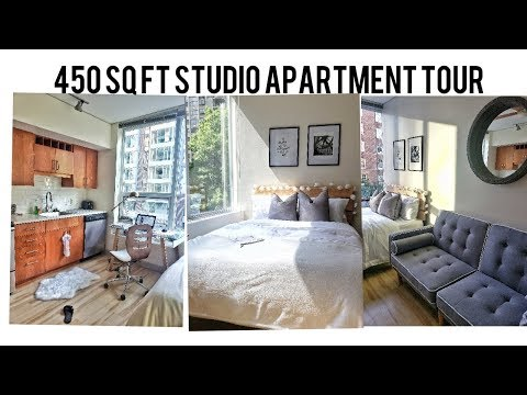 SMALL STUDIO APARTMENT TOUR IN SEATTLE