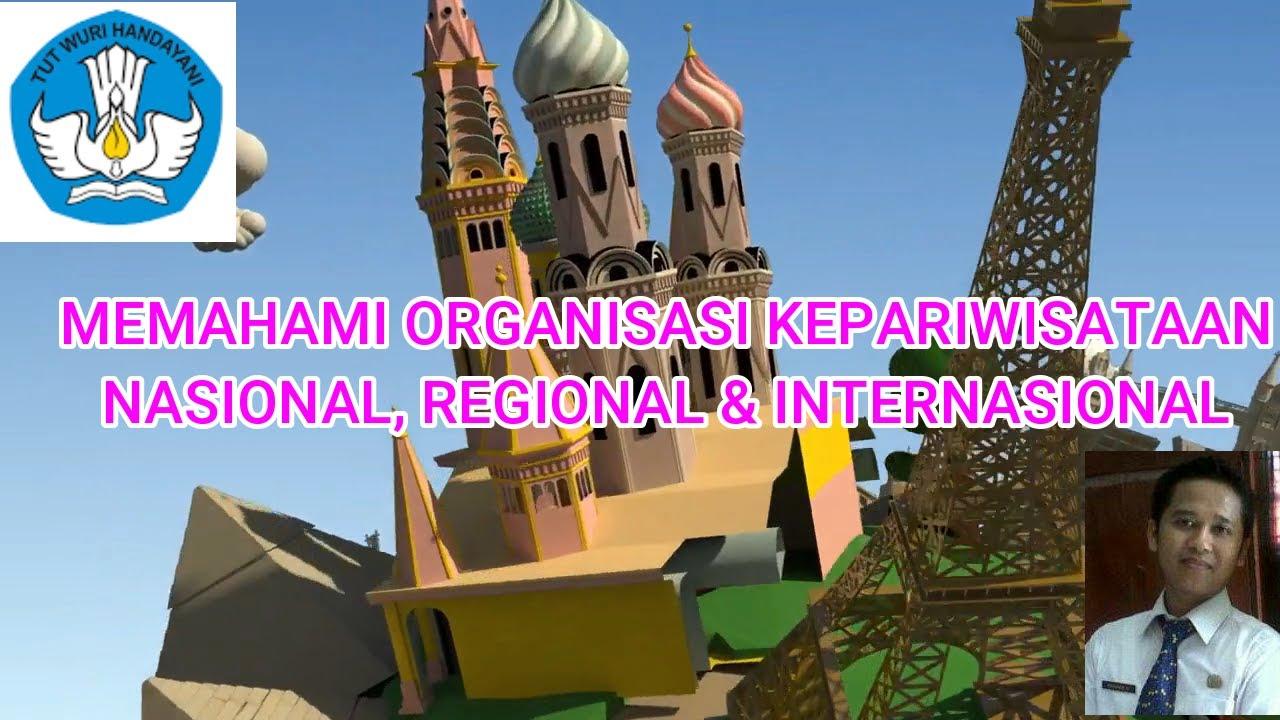 ORGANISASI KEPARIWISATAAN LOKAL, NASIONAL, REGIONAL DAN INTERNASIONAL