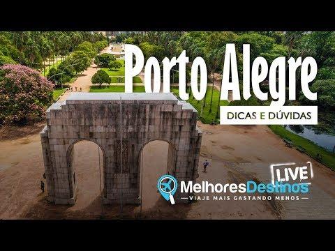 O que fazer em Porto Alegre? DICAS AO VIVO