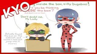 Thinking Inside The Box (Hilarious Miraculous Ladybug Comic Dub)
