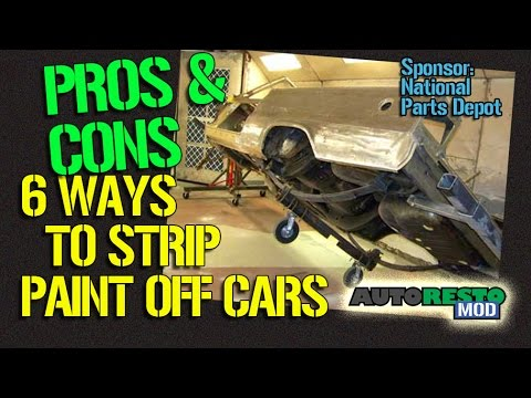 Six Ways to Strip the Paint Off Your Classic Car Pros and Cons Episode 201 Autorestomod