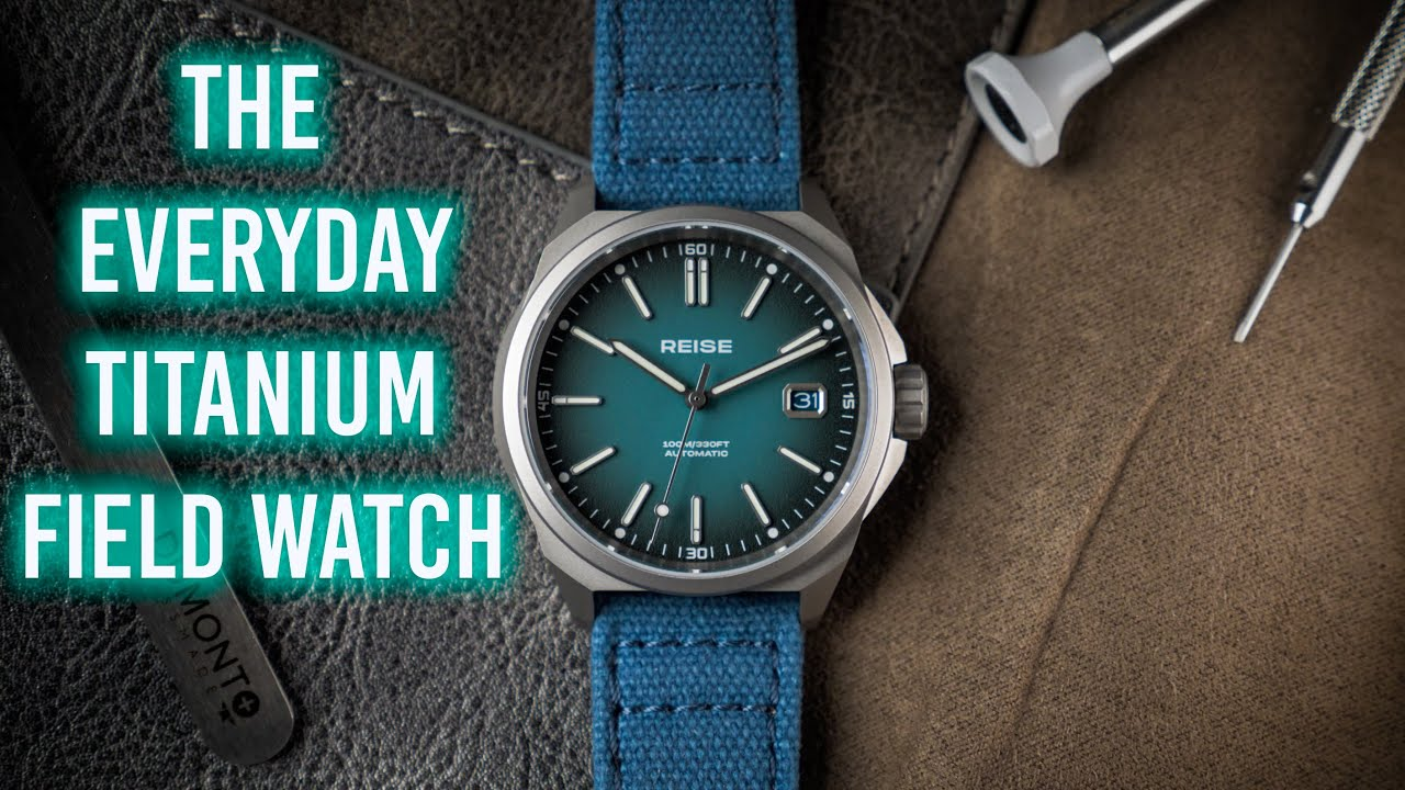 The EVERYDAY Titanium Field Watch - Reise Resolute