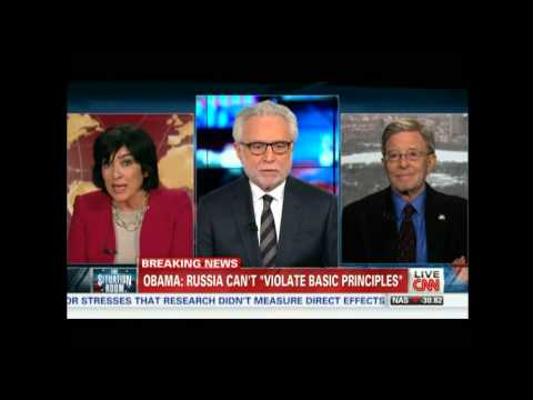 """Christiane Amanpour goes after Wolf Blitzer on CNN"""
