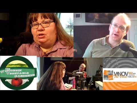 starting a garden  In Station Video The Wisconsin Vegetable Gardener Radio Show #4