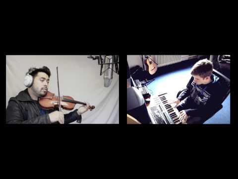 Avicii ft. Aloe Blacc: Wake Me Up (Piano/Violin Cover) - David Wong and MellowNightz