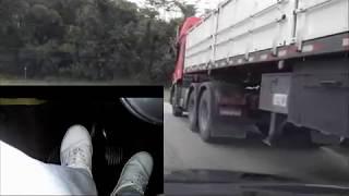 Treino para perder medo de caminhão