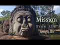 Secret entry into Angkor Wat