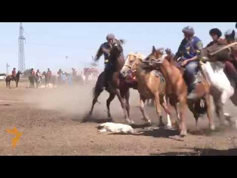 Kazakh Youth Teams Compete In Buzkashi