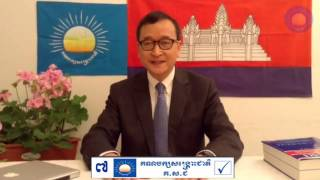 Sam Rainsy will return to Cambodia