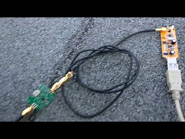L-Band Outernet signal reception with RTL-SDR dongle and LNA