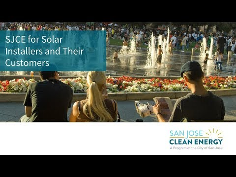 San José Clean Energy's Solar Program Overview