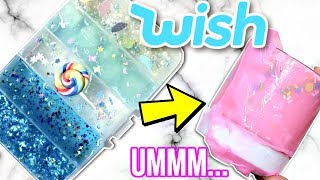 EXPENSIVE WISH SLIME REVIEW! Is It Worth It?!