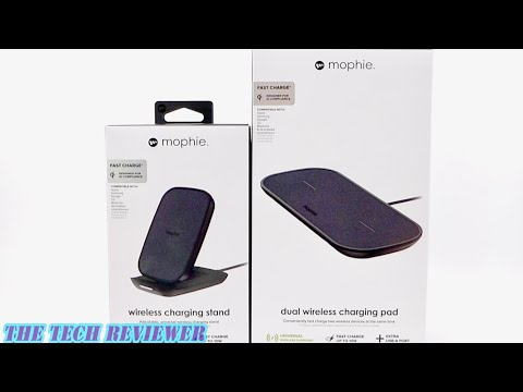Upgrade To Wireless Charging With The Mophie Dual Wireless Charging Pad And Wireless Charging Stand!