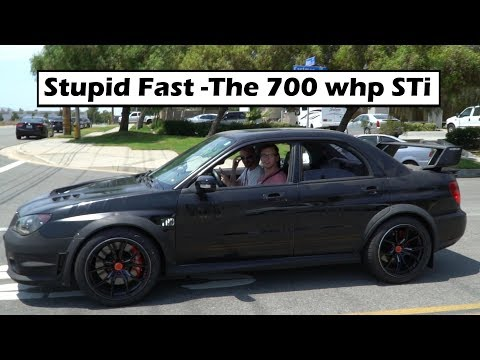 Reaction To The 700 WHP Subaru STi!