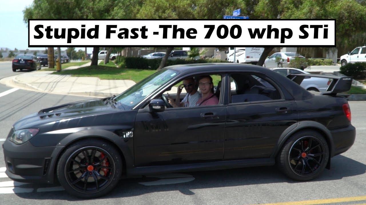 Reaction To The 700 WHP Subaru STi!