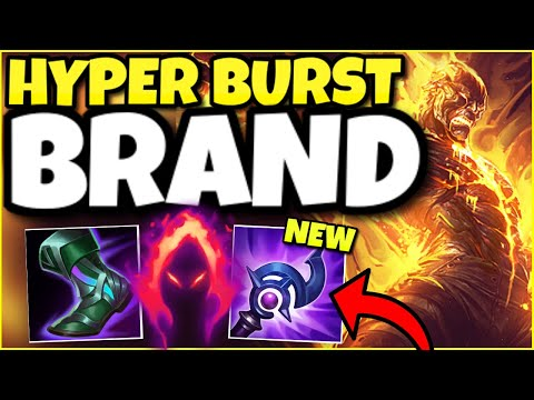 (BROKEN DAMAGE) THE NEW BUILD THAT MAKES BRAND THE #1 SUPPORT IN SEASON 11!  LUDENS BRAND