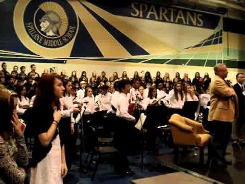 Spillane Middle School--Veterans Day...