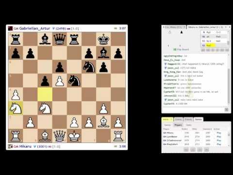 ♚ GM Hikaru Nakamura ★ Titled Tuesday #1 on Chess.com ★ July 5 2016